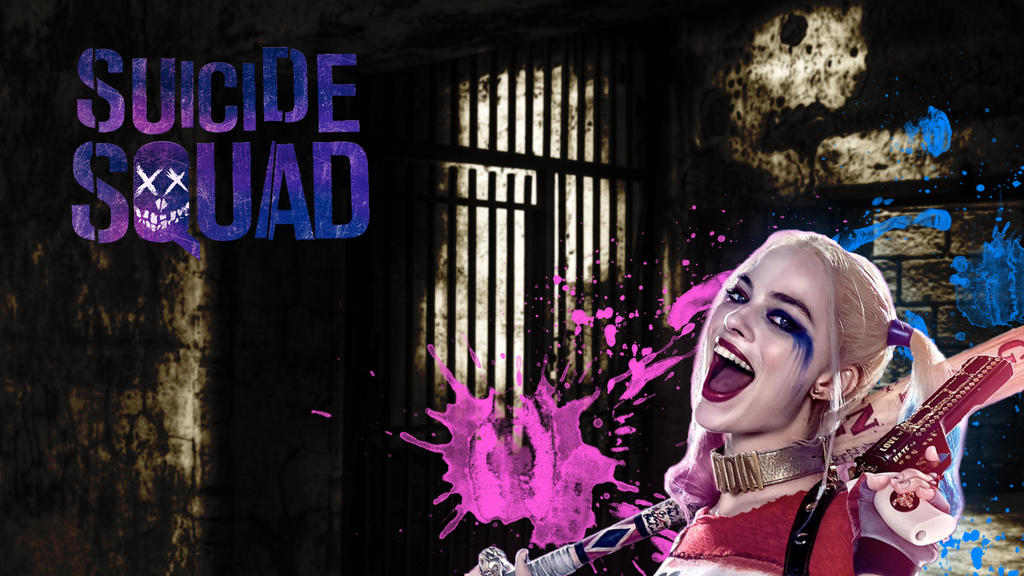 Suicide Squad Harley Quinn Desktop Background By RockNRollSaz