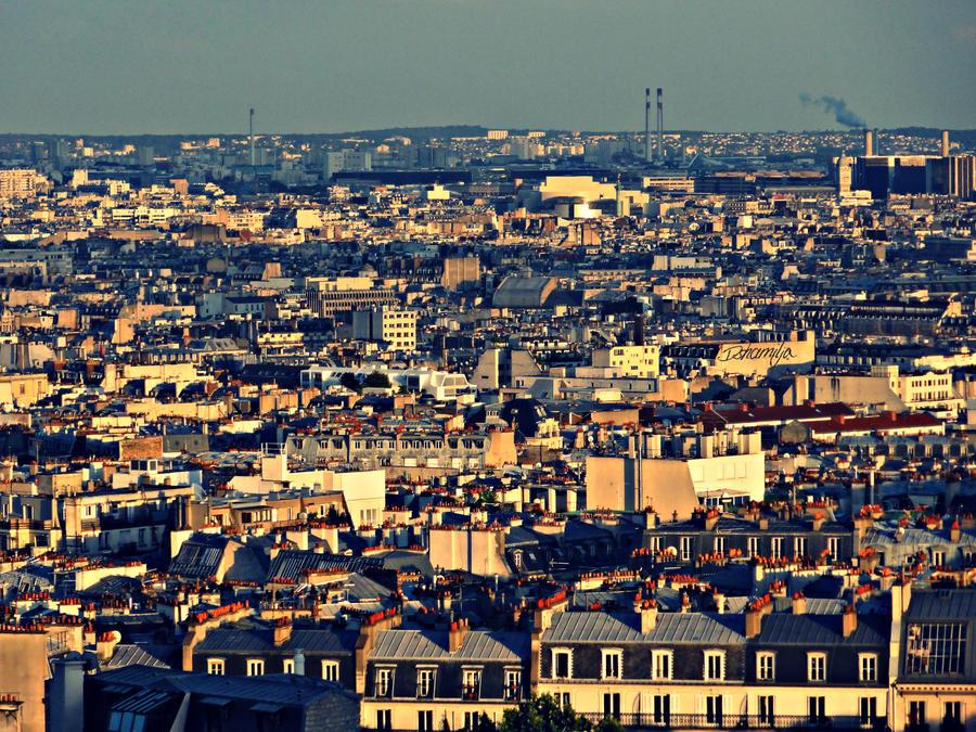 Abendsonne in Paris by DshaLie