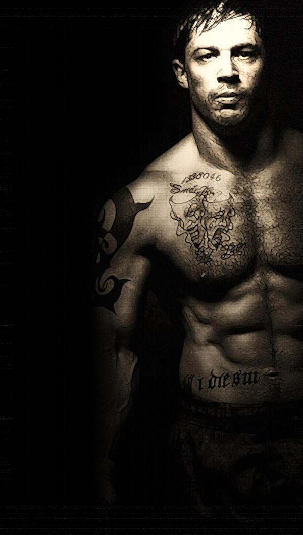 Tom Hardy 3 By AMANDABOMINATION
