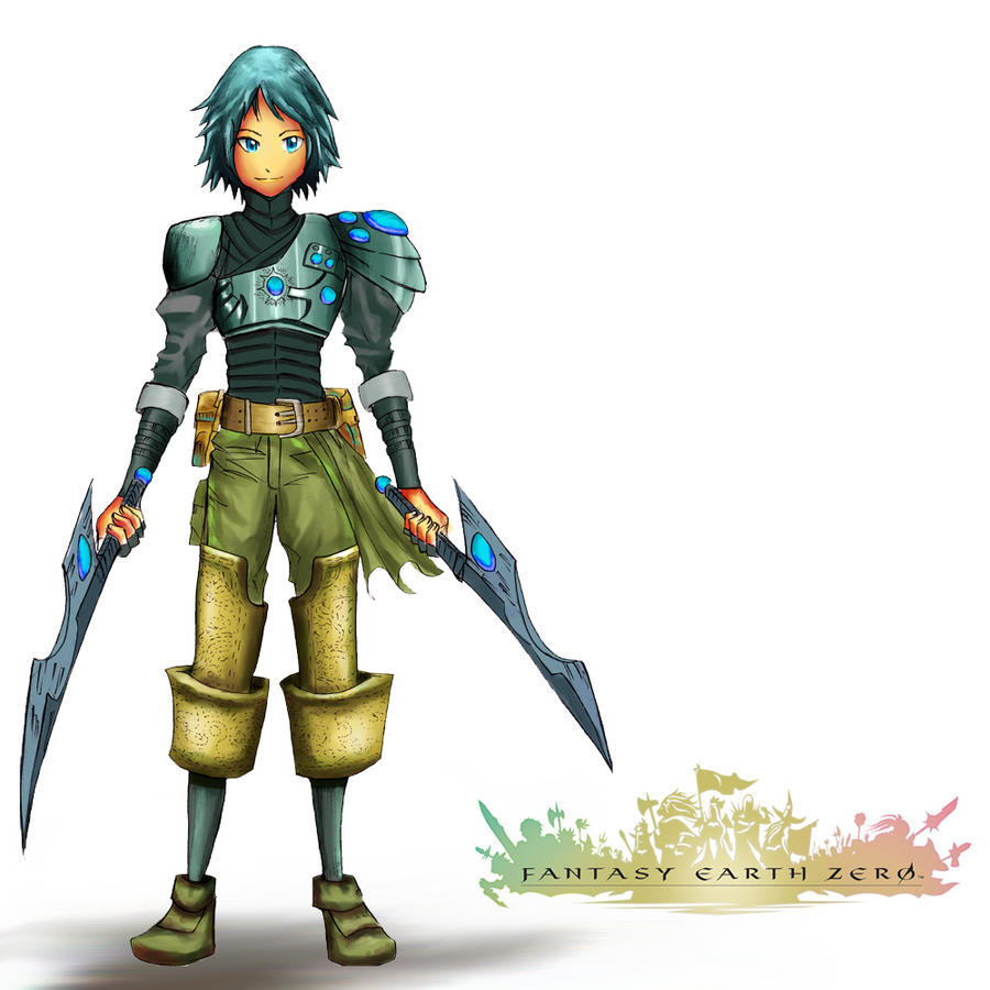 Fantasy Earth Zero Scout by xetoxgarshiz on DeviantArt