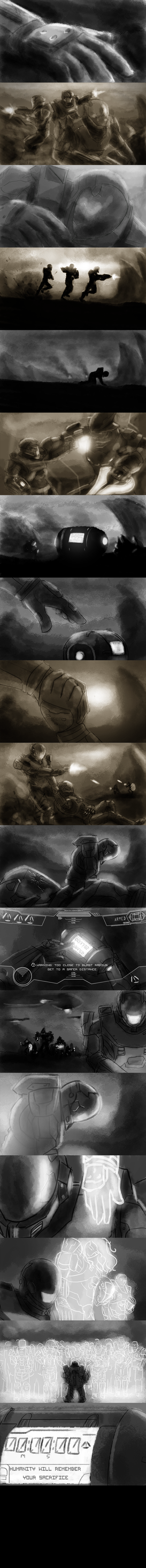 Halo: Ghosts of Reach by Oscar-is-Happy