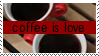 Coffee is Love Stamp by strawberry-hunter