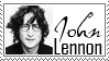 John Lennon Stamp by strawberry-hunter