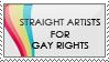 LGBT Stamp by strawberry-hunter