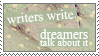 5. Dreams by strawberry-hunter