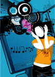 cyber music addiction