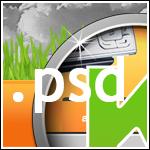 psd my portfolio - kwusherARTS by webgraphix