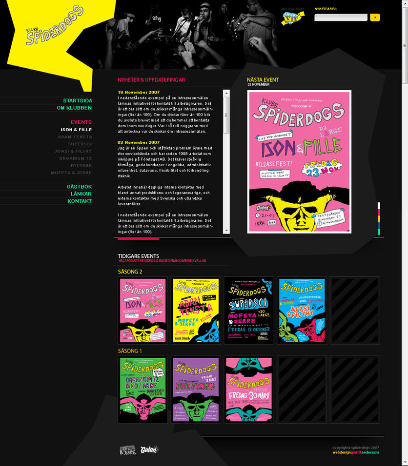 Club Spiderdogs by lg2 by webgraphix