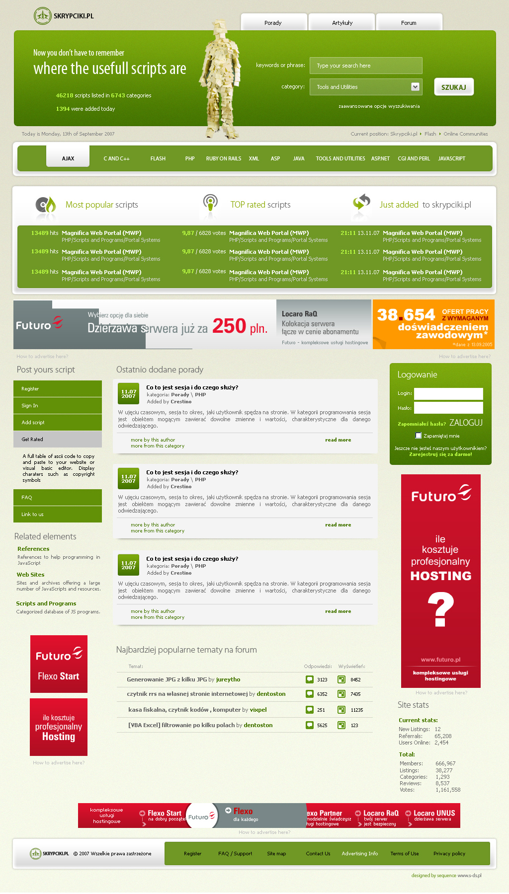 website layout 56 by webgraphix