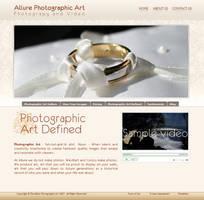 allure website by dj-dark by webgraphix