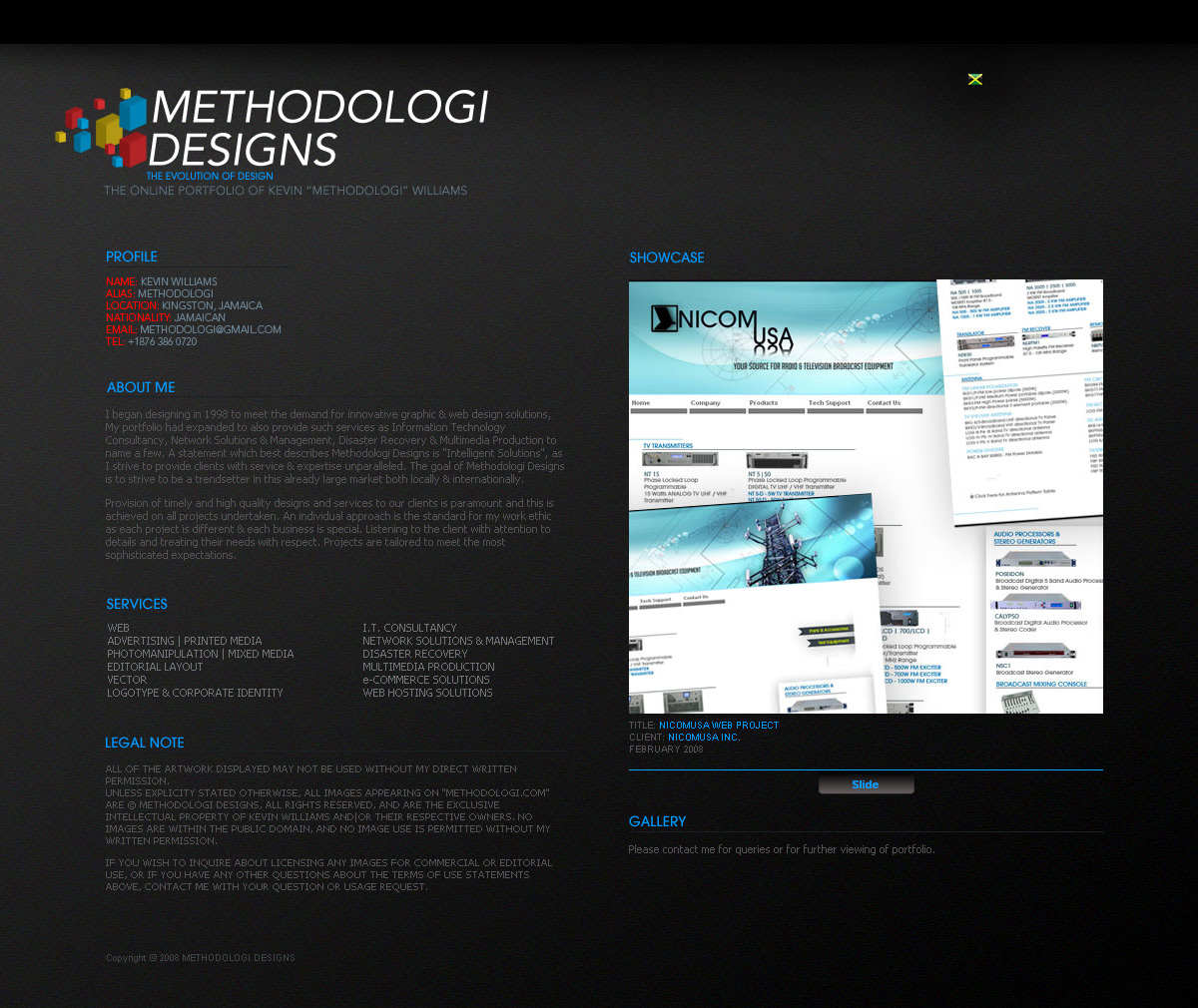 Methodologi Designs Online by webgraphix