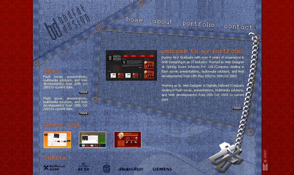 Portfolio V5 by WebRules by webgraphix