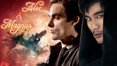 Alec/Magnus Wallpaper
