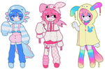 primary pastel minis