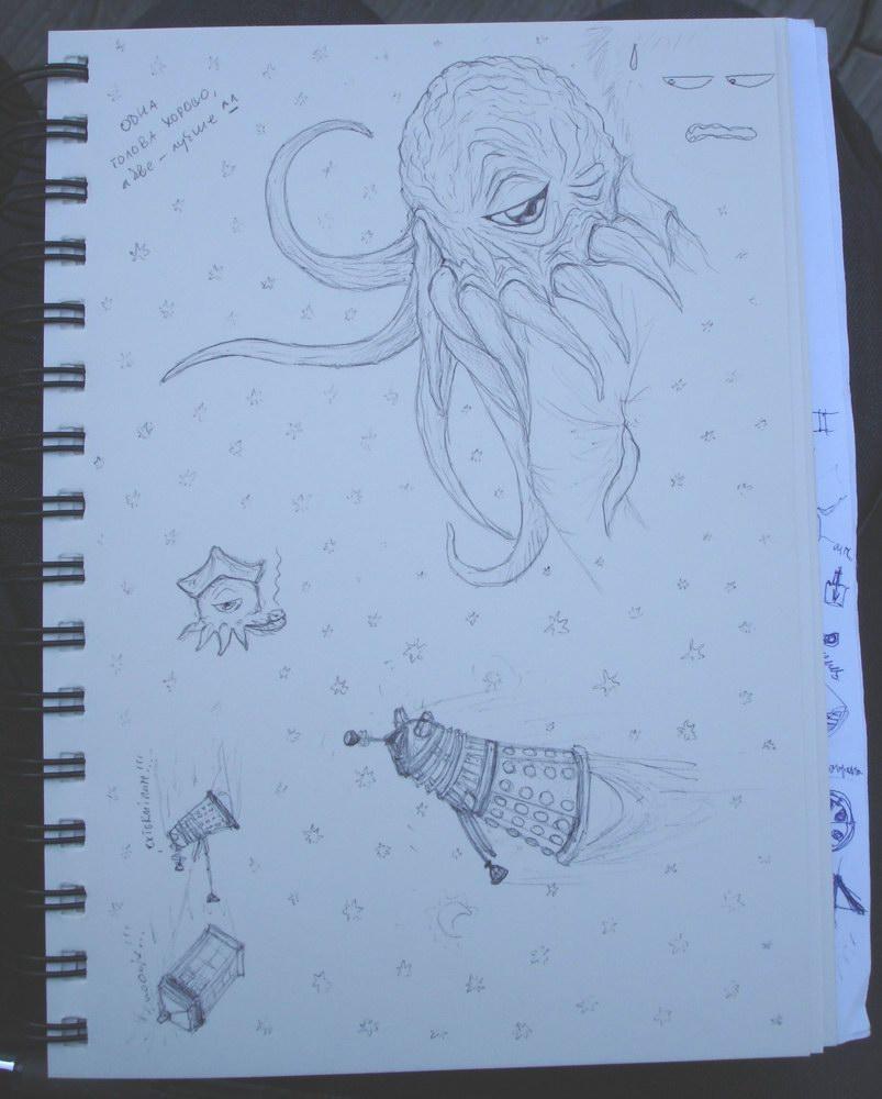 Sketches by DalekJoy