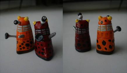 Spotted Daleks by DalekJoy
