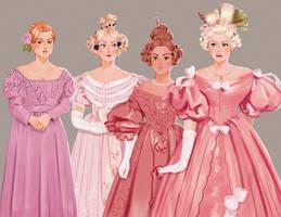 1830s Mean Girls