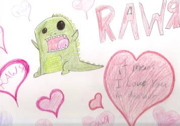 Rawr love by psychoanimelover