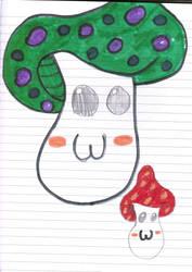 Mushrooms by psychoanimelover