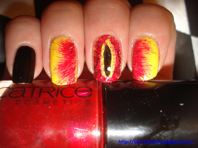 Lotr nails by naniii on deviantart lotr nails by naniii prinsesfo Images