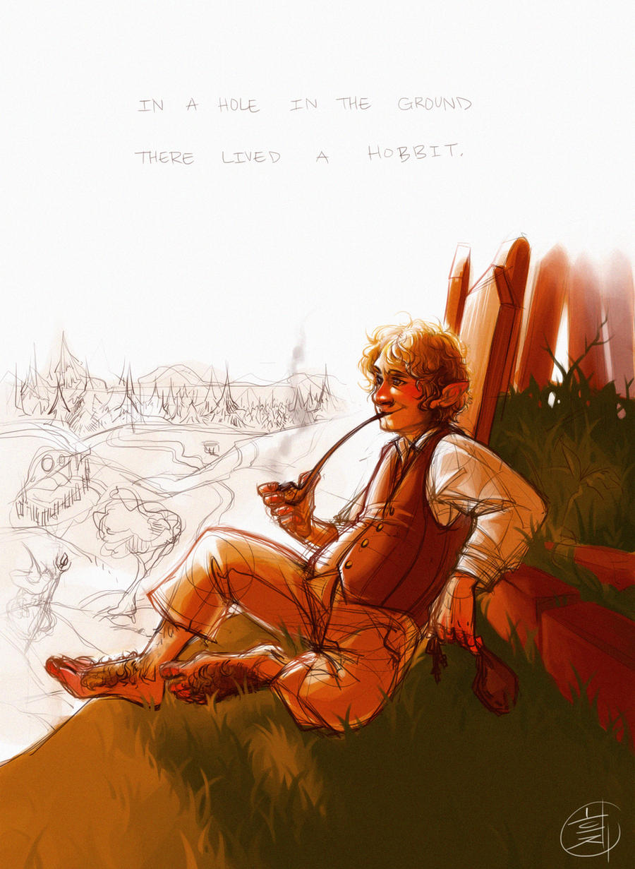 BILBO MOTHERFUCKING BAGGINS by TrufflesTheMushroom