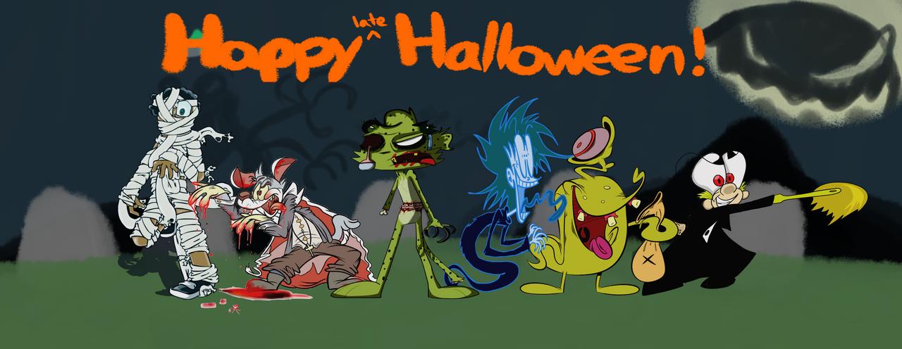DA's of Halloween by ToonDude14