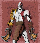 Kratos - PS All Stars