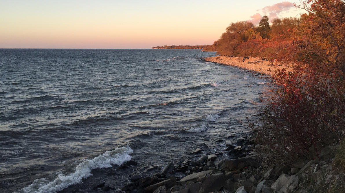 Lake Ontario Wallpaper by galapogosian