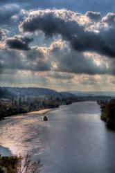 Prague, view from Vysehrad by daikatana79