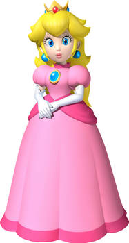 Happy National Pink Day from Princess Peach!