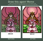 Draw This Again: Stained Glass