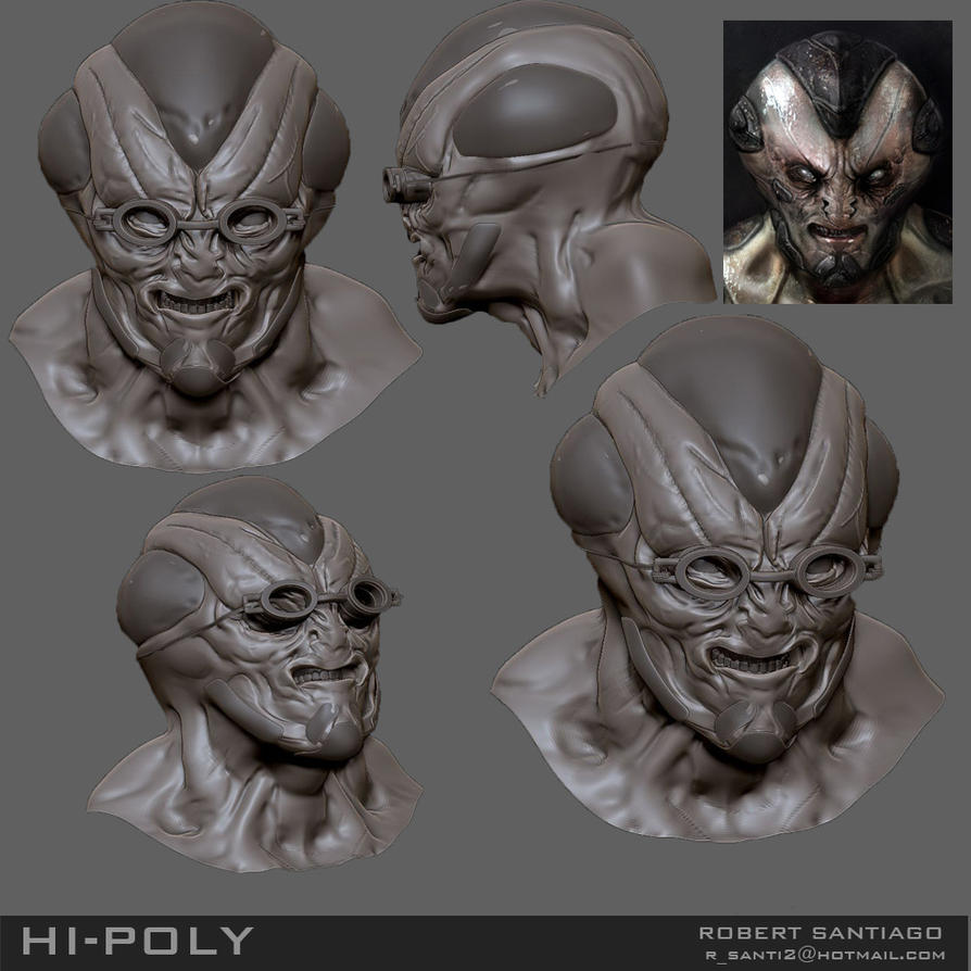Alien soilder by ROB-MAPS