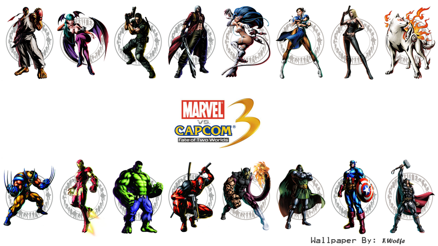 Marvel vs. Capcom 3 Wallpaper by - 406.1KB