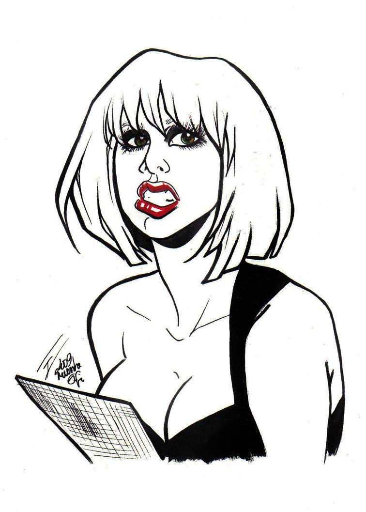 lady gaga by bulma24 on DeviantArt