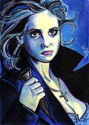 Dark Buffy by bulma24
