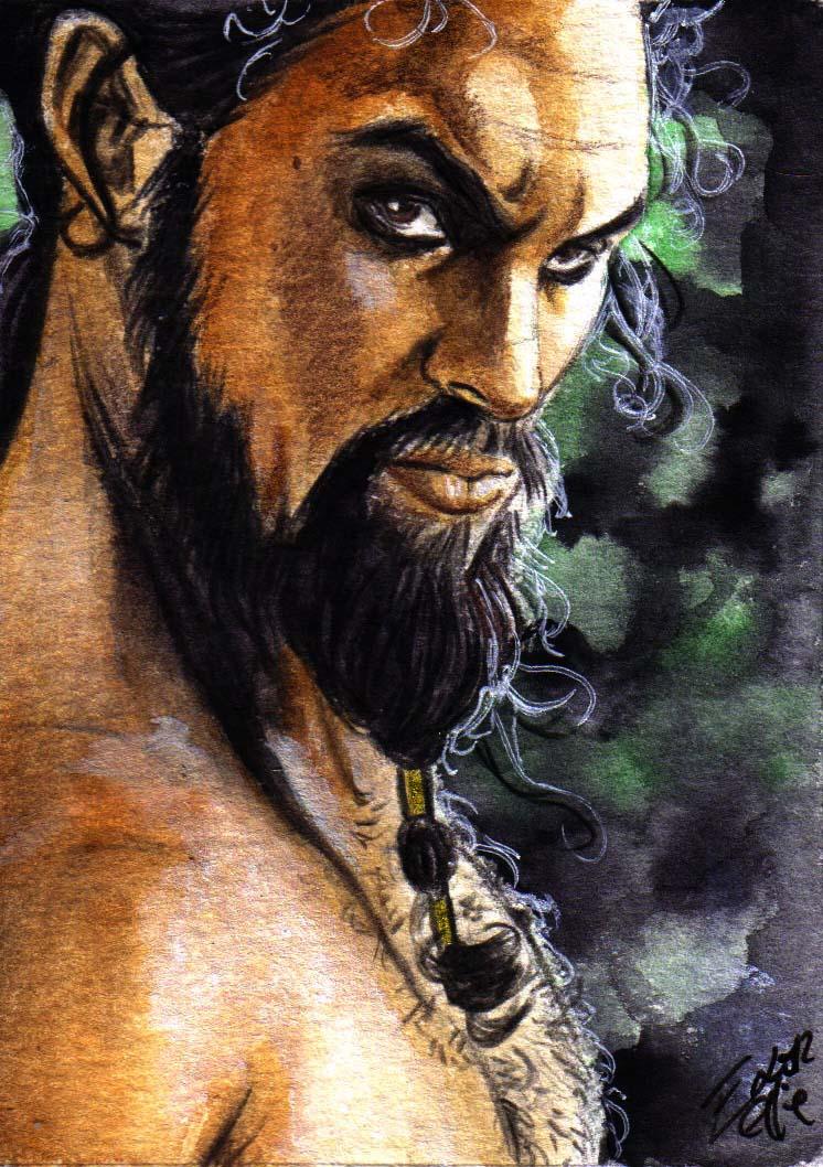 dibujos - dibujos de  Khal Drogo Khal_drogo_by_bulma24-d4ss0nh