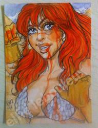 Bloody Sonja by bulma24