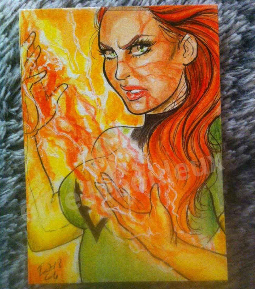 the Phoenix is rising by bulma24