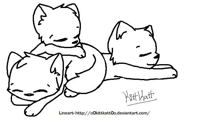 Cat lineart favourites by XBaneHollowX on DeviantArt Sad Cat Lineart