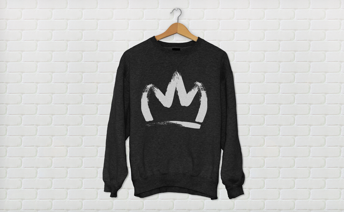 CROWNSWEATSHIRTblackPREVIEW by LeBron6