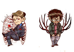 Hannibal and Will by AlyssaTye