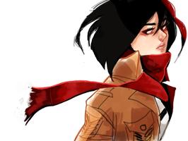 Mikasa by AlyssaTye