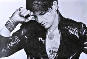 Adam Lambert by xXxHeatherAnnxXx
