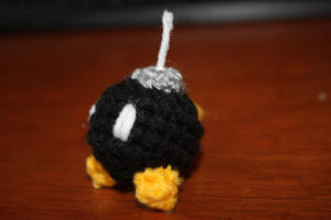 Bob omb Amigurumi by rdekroon
