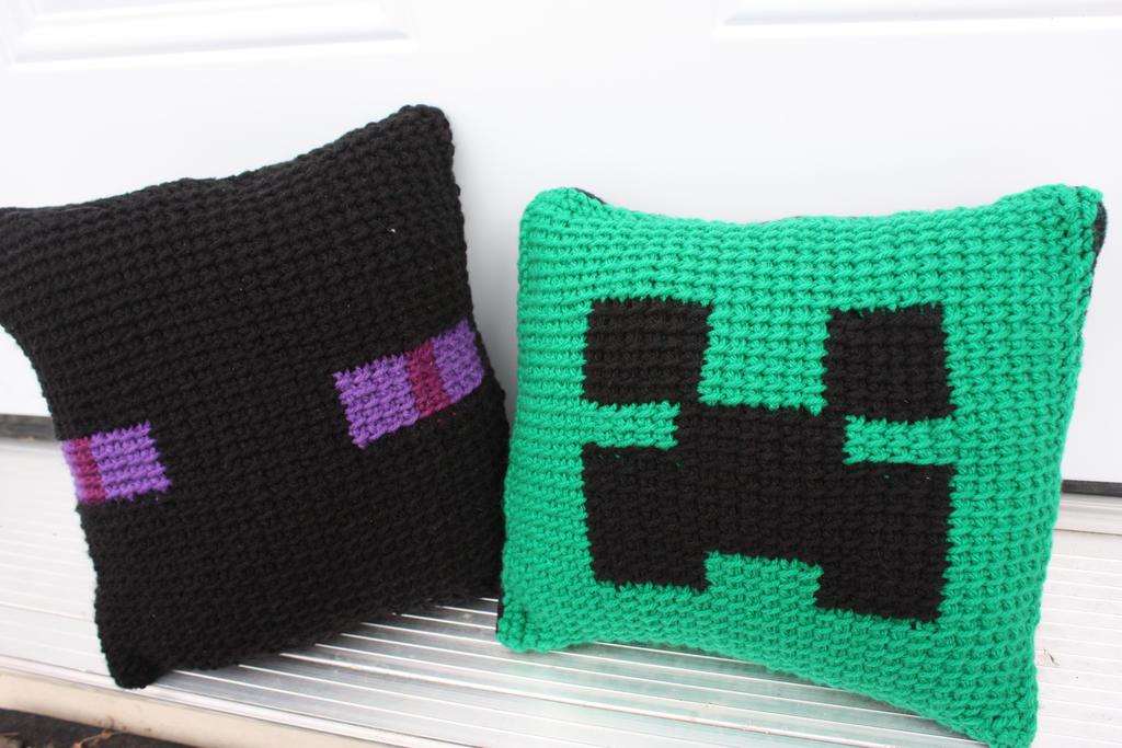 Minecraft Pillows By Rdekroon On Deviantart