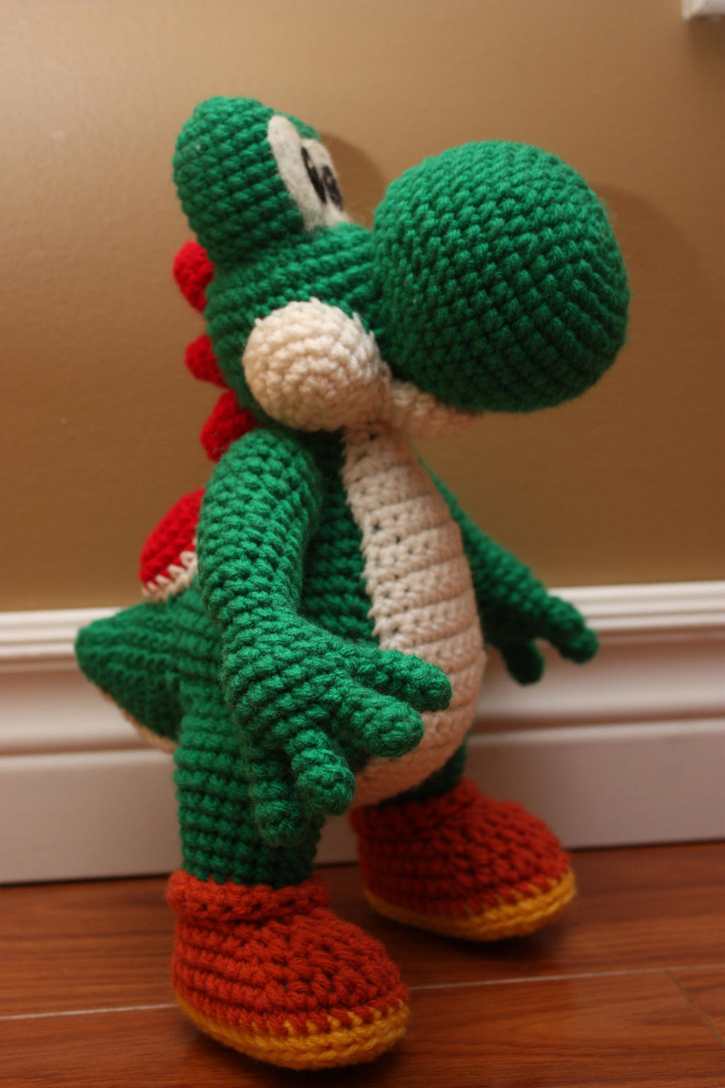 Crochet Patterns Yoshi : Crochet Yoshi by rdekroon on DeviantArt