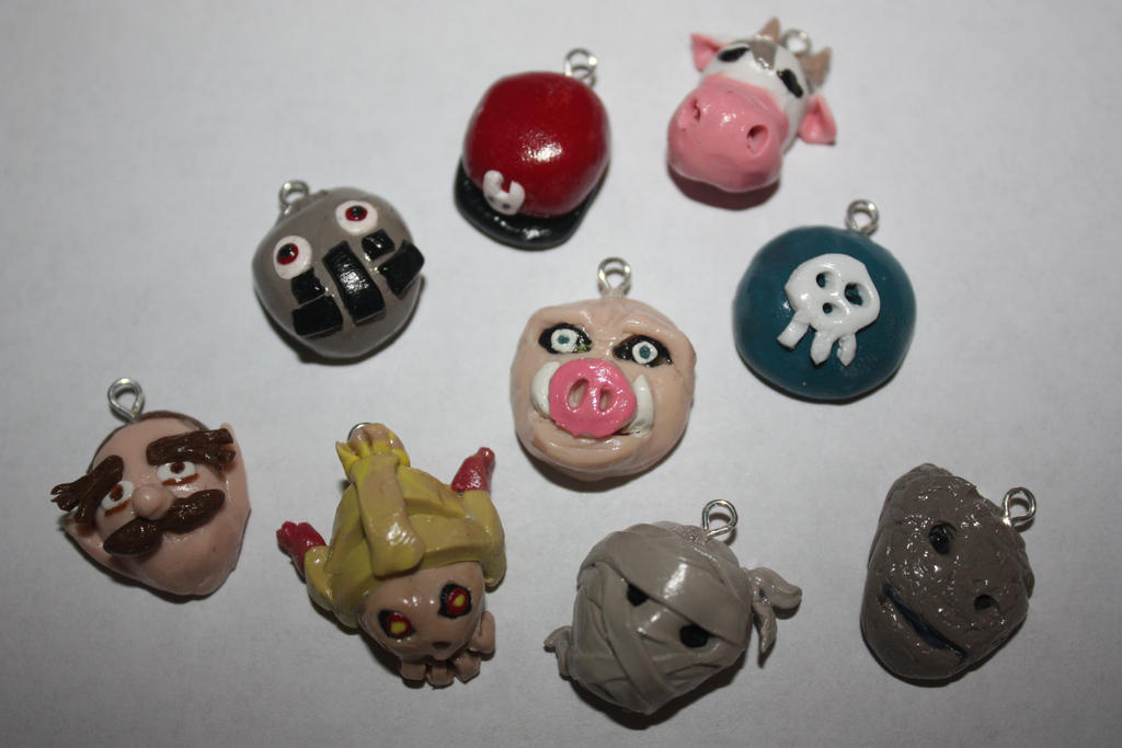 Majora's Mask In Game Masks Charms 2 by rdekroon