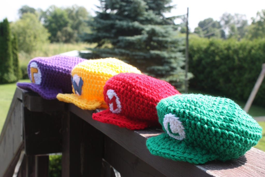 Mario Hats by rdekroon