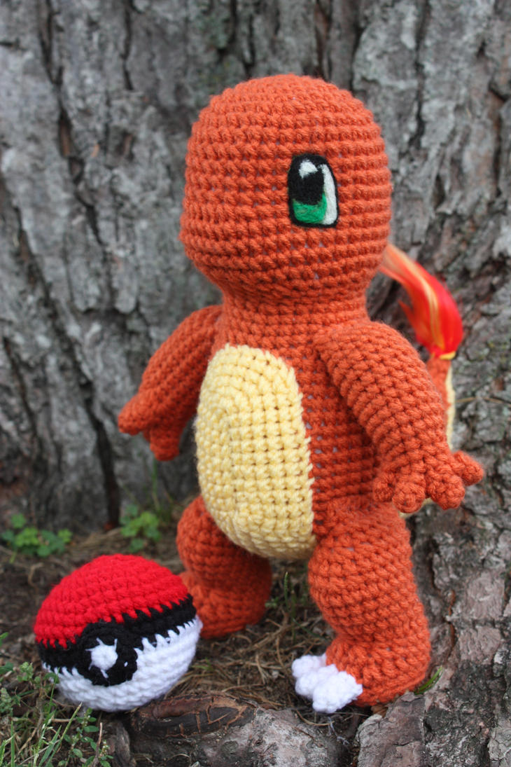 Charmander Crochet Doll by rdekroon