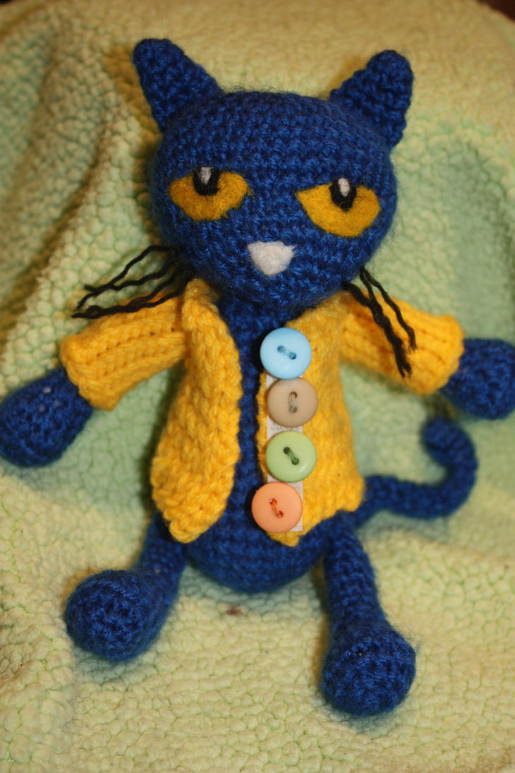 Pete the Cat (and His Four Groovy Buttons) by rdekroon